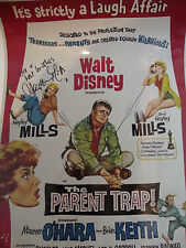 HAYLEY MILLS - THE PARENT TRAP personally signed 16x12