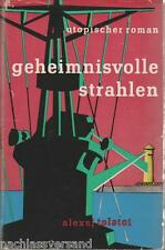 A. Tolstoi GEHEIMNISVOLLE STRAHLEN Phantastik Fantasy UdSSR Science-Fiction DDR