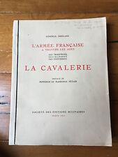 Général Brécard La Cavalerie Orné de 20 aquarelles aux pochoirs de  Leroux 1931