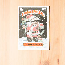 Vintage Garbage Pail Kids 1986 UK Sticker Collector's Card Chris Mess 232a