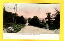 Winona,MN Minnesota, Looking down Mankato Ave. from Sugar Loaf Drive used 1909