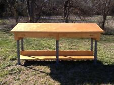Mid-Modern Retro Industrial 1960's Drawing Table, Architects Desk, Draft Table
