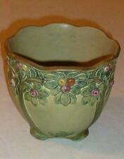 Early Weller apple tree pottery vase jardiniere