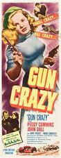 Gun Crazy 14inx36in Insert Movie Poster Replica