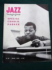 JAZZ -1962 French Magazine- Charlie Parker Oscar Peterson Belgian Jazz Scene