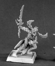 REAPER MINIATURES Dark Elf Demon VYSA DARKSPAWN CAPTAIN Warlord 14538