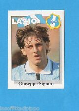CALCIO FLASH '95-EUROFLASH-Figurina n.176- SIGNORI - LAZIO -NEW