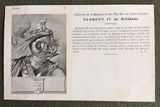 CPA. FLORENT IV de Hollande. 35. Histoires de la  Belgique et Pays Bas.