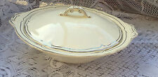 "Creampetal Grindley ""Silverdale"" Covered Vegetable Bowl/Dish (379)"