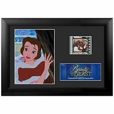 THE BEAUTY AND THE BEAST 19x14 CM DISNEY MINI FILM CELL FOTO PELLICOLA POSTER #2