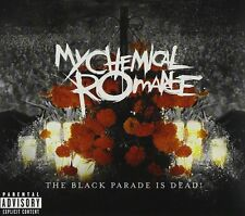 MY CHEMICAL ROMANCE THE BLACK PARADE IS DEAD! LIVE CD+DVD ALBUM SET (2008)