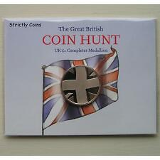 £1 (ONE POUND) COMPLETER MEDALLION Medal The Great British Coin Hunt - FREEPOST