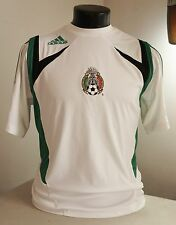 MEXICO FOOTBALL JERSEY 2007 Adidas home kit - Small CLIMA365 rare/soccer/shirt