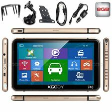 "7"" Car/Truck Capacitive Touchscreen GPS Navigation 8GB Navigator NAV w/ Free Map"
