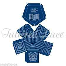 Tattered Lace Cutting Die - Pentagon Box - Scallop - Butterfly - ETL125 - New
