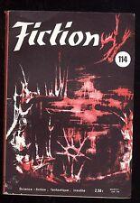 Revue FICTION n° 114  Mai 1963  Julio CORTAZAR / ANDERSON / Henry JAMES   OPTA