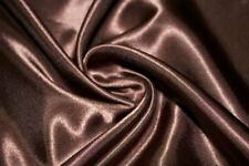 Satin Charmeuse Silk Shiny Smooth Apparel Dress 100% Polyester Fabric BTY