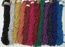 36 Choice Mardi Gras Beads Football Tailgate Party Necklaces 3 dozen