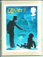 GB - PHQ CARDS -2011 - MUSICALS - BACK - FDI/SHS - COMP. SET USED