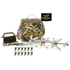 RIG'EM RIGHT WATERFOWL DUCK GOOSE DECOY MEGA MOTION JERK RIG KIT RIPPLE WAKE