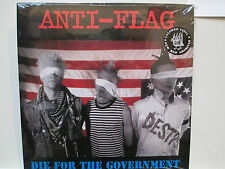 ANTI - FLAG Die For The Government LP Punk Hard Core Anarchy