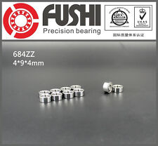 684ZZ ABEC-5 (10PCS) 4x9x4MM Miniature Ball Bearing  618/4ZZ FUSHI