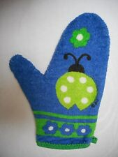 Kitch/Retro 60s OVEN MITT Pot Holder Lady Bug USA made terry cloth NEW  Tags