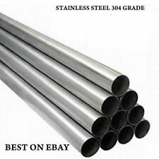 "1.5"" X 500MM 0.5 M STAINLESS STEEL TUBE EXHAUST PIPE REPAIR SECTION T304 GRADE"
