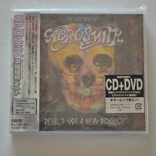 AEROSMITH - DEVIL'S GOT A NEW DISGUISE - 2006 JAPAN CD/DVD LTD. EDITION