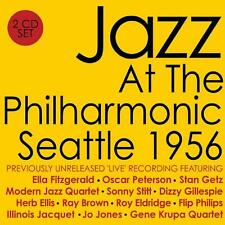 JAZZ ~ AT THE PHILHARMONIC ~ SEATTLE 1956 ~ 2 CDs ~ FITZGERALD Ellis GETZ + MORE