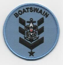 "Sea Scout Boatswain Position (New Design!), 3"" Round, ""BSA 2010"" Back, Mint!"