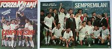 ORIG. prg EC 1 89/90 Finale ac milan-benefica Lisboa/edición especial