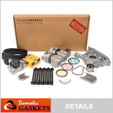 96-00 Honda Civic Si Del Sol 1.6L DOHC Master Overhaul Engine Rebuild Kit D16A2