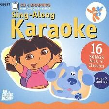 Nick Jr Sing Along Karaoke Various Artists Audio CD