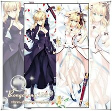 Anime Fate Zero Saber Altria Dakimakura Hugging Body Pillow Cover Case 150x50cm