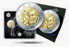 "Trio 2 euros commémorative FRANCE 2017 - ""Auguste Rodin"" - UNC, BU et BE inclus"