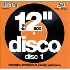 "Mastermix Classic Cuts Presents The 12"" 4 x CD Box Set - Disco Extended Versions"