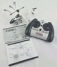 Syma S107G Gyroscopes System Metal Series RC Mini Helicopter White