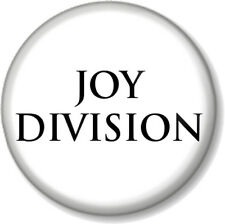 "Joy Division 25mm 1"" Pin Button Badge Band New Wave Electronic Closer Logo White"