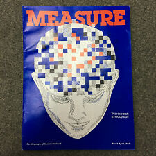 rare MEASURE revue du personnel HP Hewlett Packard Calculator March April 1987
