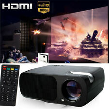 Mini LED Projector 3200 Lumens Home Theater Multimedia 1080P HD AV VGA HDMI USB