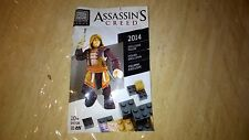 Assasin's Creed  EXCLUSIVE 2014 MEGA BLOKS Figure