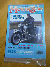 THE CLASSIC MOTORCYCLE MAG APRIL 90 TOURING TRIUMPH ASCOT-PULLIN MONDIAL TORRENS