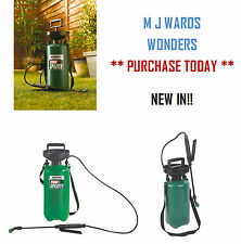 Ronseal 5 Ltr - Pressure Pump Sprayer – Fence Treatment - HIGH QUALITY