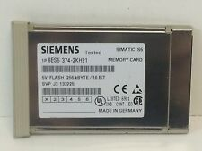 GUARANTEED SIEMENS 5V 256KBYTE 16 BIT SIMATIC FLASH MEMORY CARD 6ES5-374-2KH21