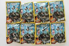 *Lot of 8 DC Super Heroes Surprise Blind Grab Zags Figures Series 1