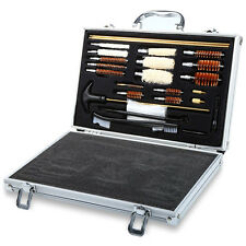 New Universal Hand Gun Rifle Shot Gun Cleaning Smithing Kit Set With Case Rilfe