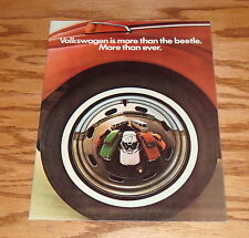 Original 1971 Volkswagen VW FL Full Line Sales Brochure 71