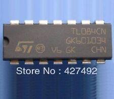 TI/ST TL084N DIP-14 JFET-INPUT OPERATIONAL AMPLIFIERS