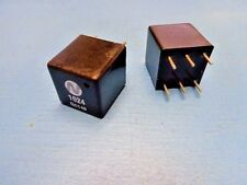 (5) NEWPORT 1024 PULSE TRANSFORMER 6 PIN DIP 2000Vrms 1.2CT:1CT 8.8mH 25pF